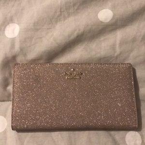 Kate space glitter wallet